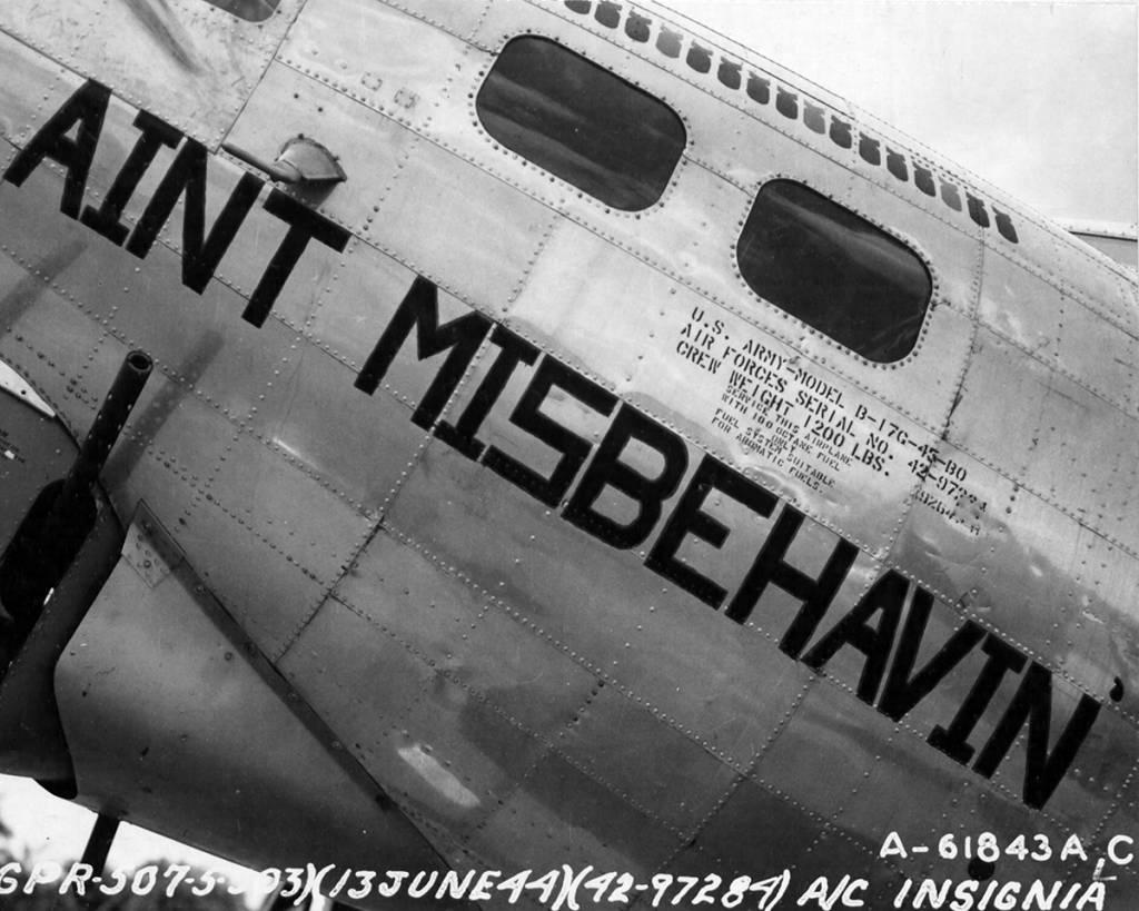 B-17 #42-97284 / Ain't Misbeahavin