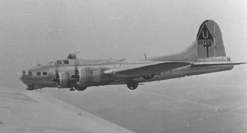 B-17 #42-97587 / Disciplinary Action