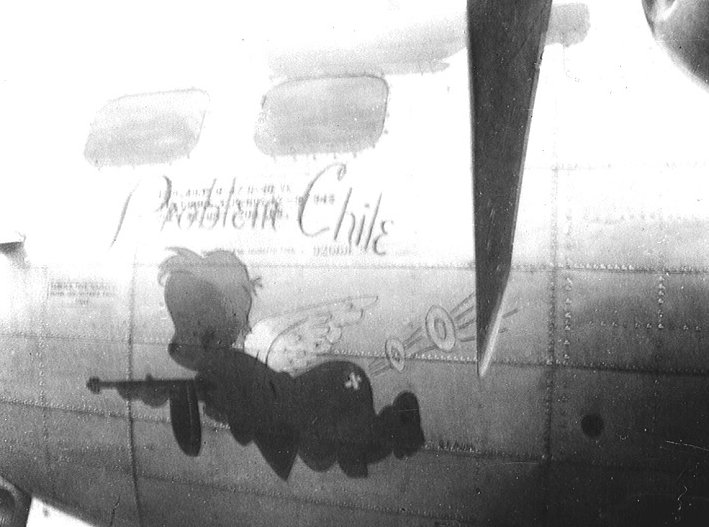 B-17 #42-97945 / Problem Chile aka Luck of the Irish