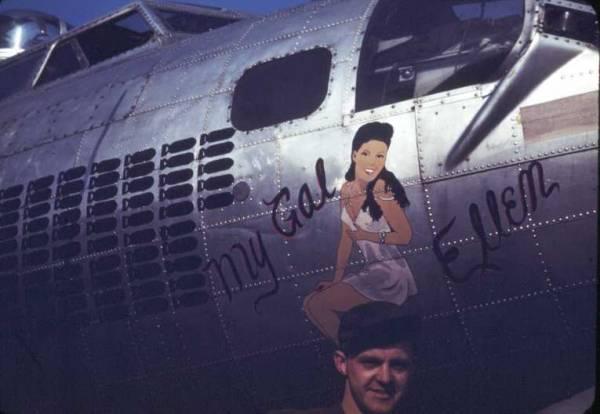B-17 #43-37735 / My Gal Ellen