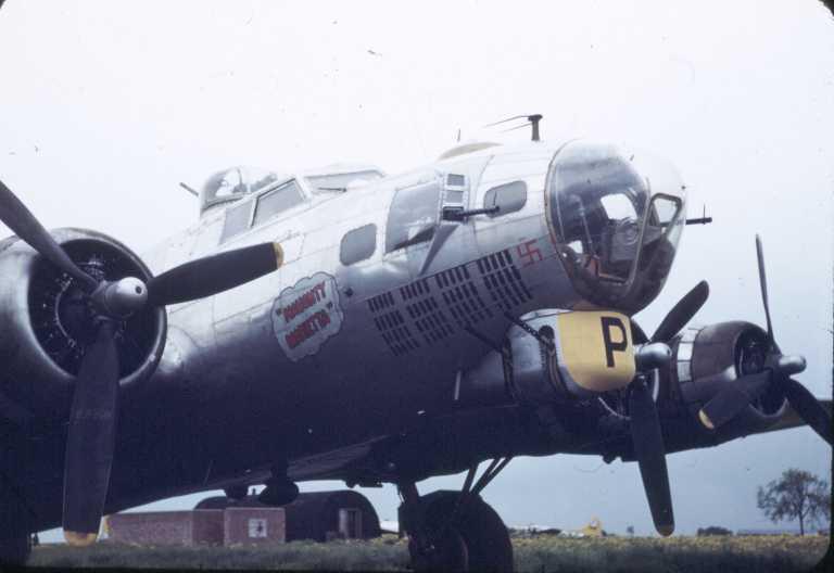 B-17 #43-37923 / Naughty Marietta