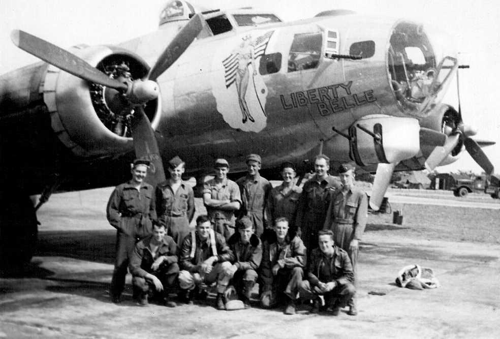 B-17 #43-38037 / Liberty Belle