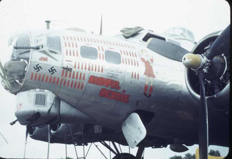 B-17 #43-38039 / Bashful Bessie