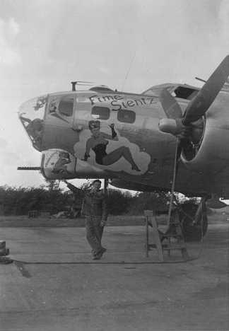 B-17 #43-38260 / Fime Sientz