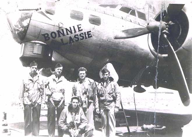 B-17 #43-38598 / Bonnie Lassie