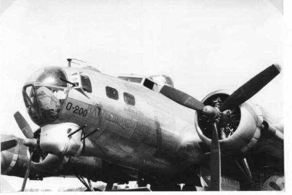 B-17 #43-39200 / Rattlesnake Daddy