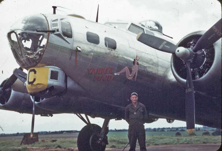 B-17 #43-39347 / Yankee Maid II