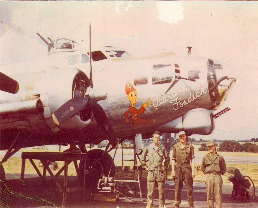B-17 #44-6315 / Fearless Fosdick