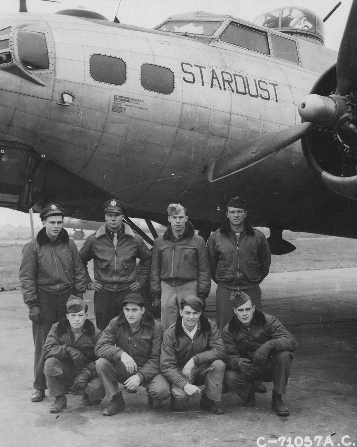 B-17 #44-6835 / Stardust