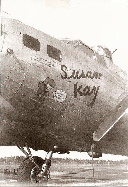 B-17 #44-8301 / Susan Kay