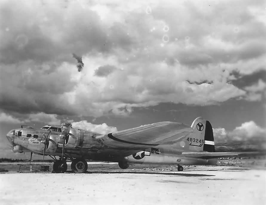 B-17 #44-83245 / Tina's Tornado