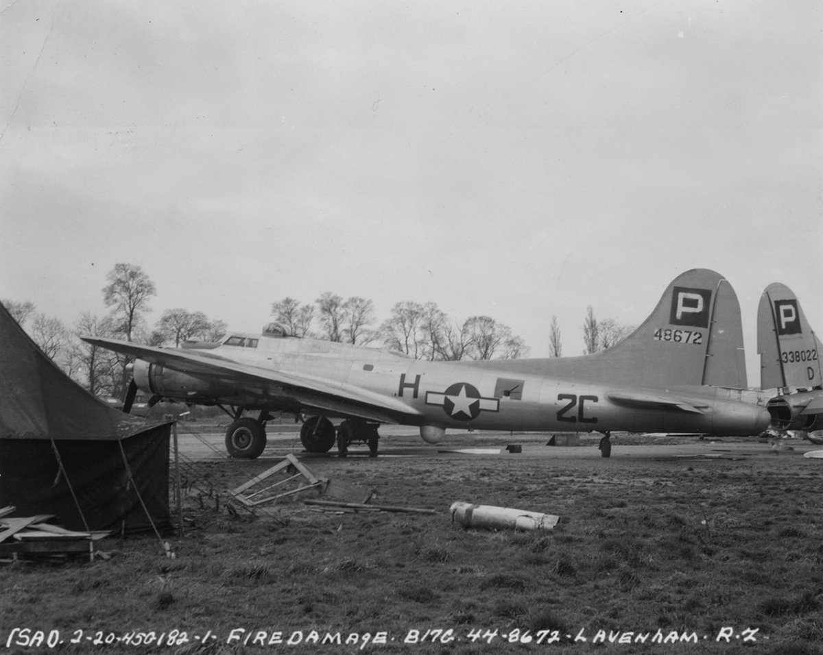 B-17 #44-8672