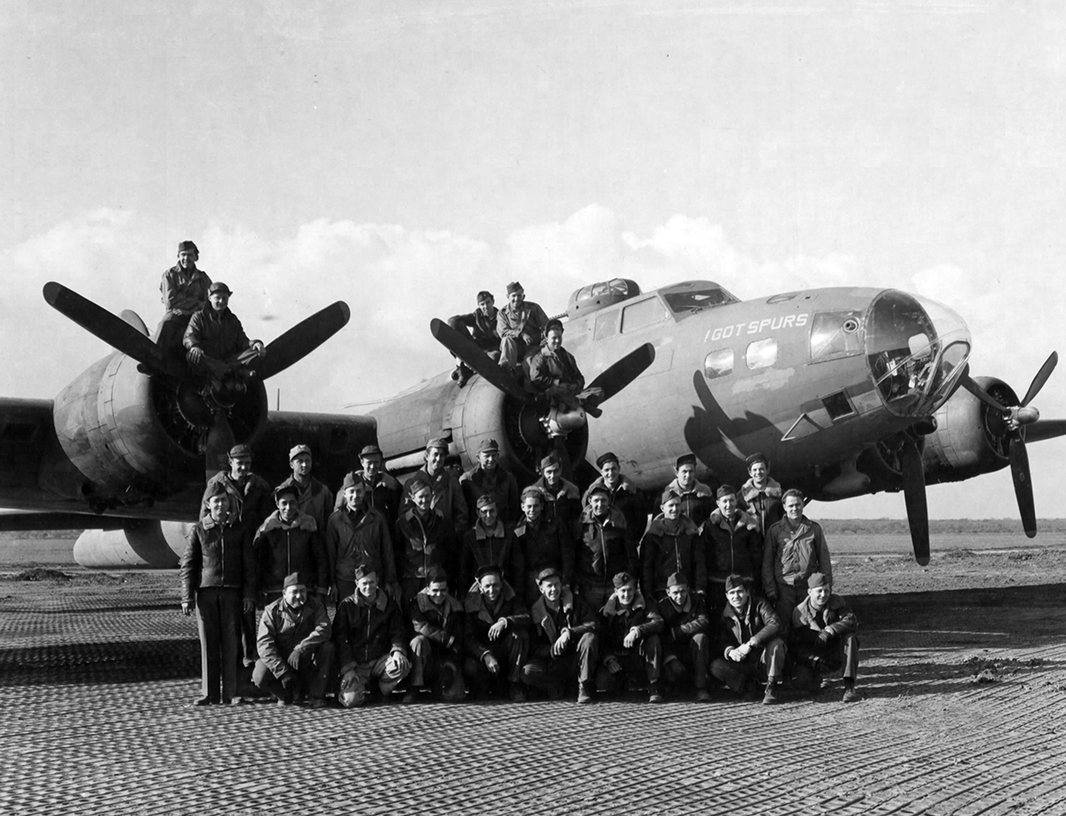 B-17 #41-24440 / I Got Spurs