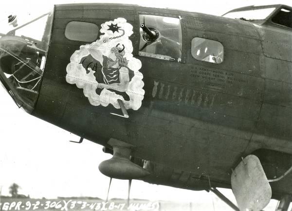 B-17 #41-24467 / Grim Reaper