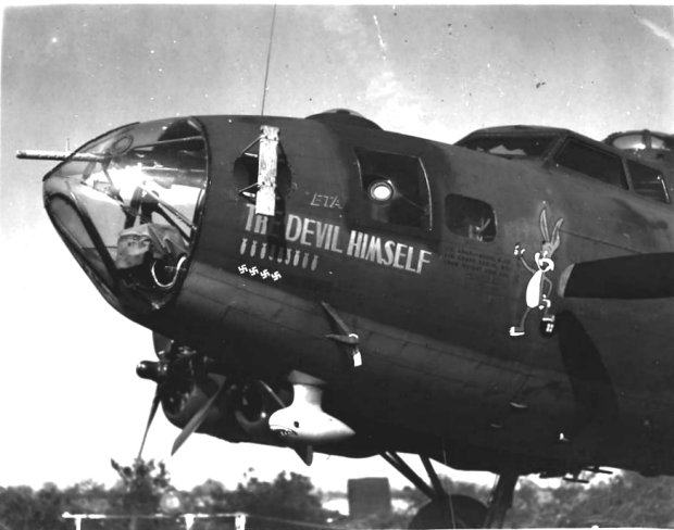 B-17 #41-24612 / The Devil Himself