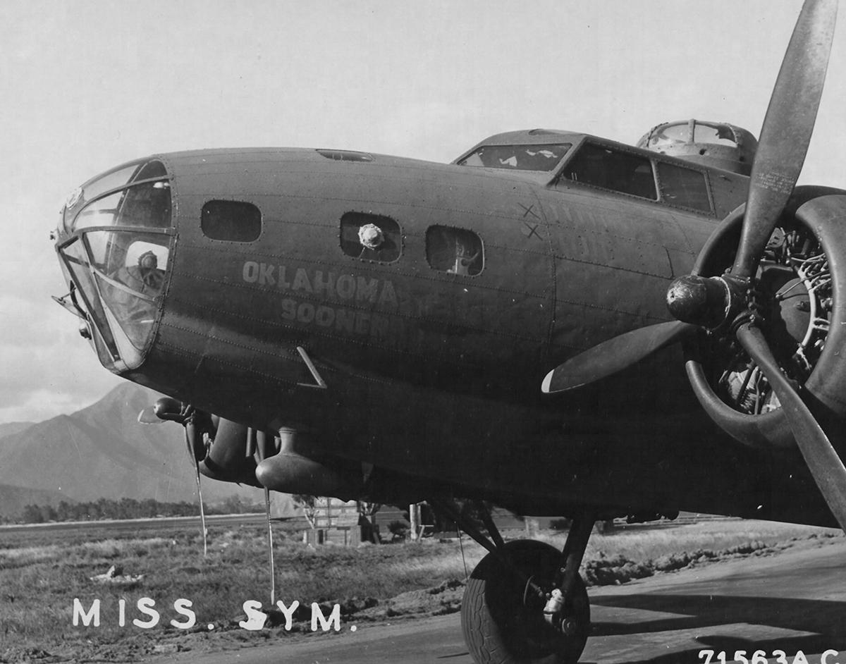 B-17 #41-2630 / Oklahoma Sooner