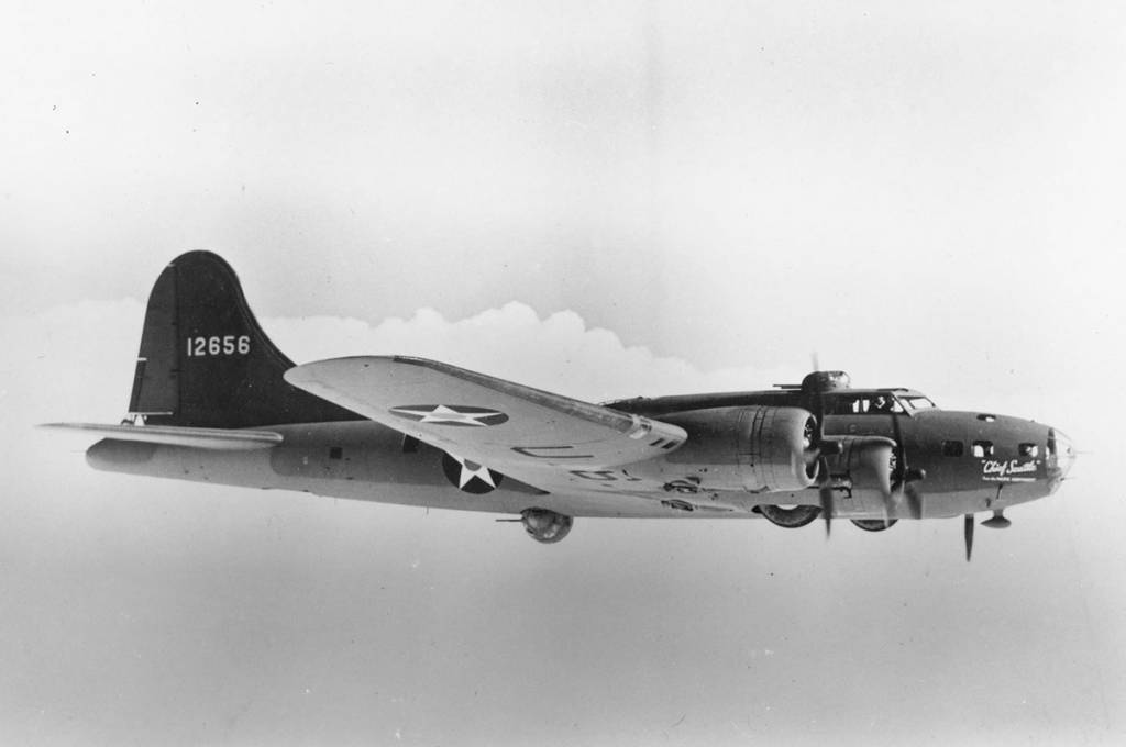B-17 #41-2656 / Chief Seattle aka Chief Seattle from the Pacific Northwest