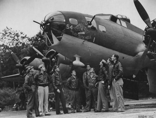 B-17 #41-9154 / The Bat out of Hell