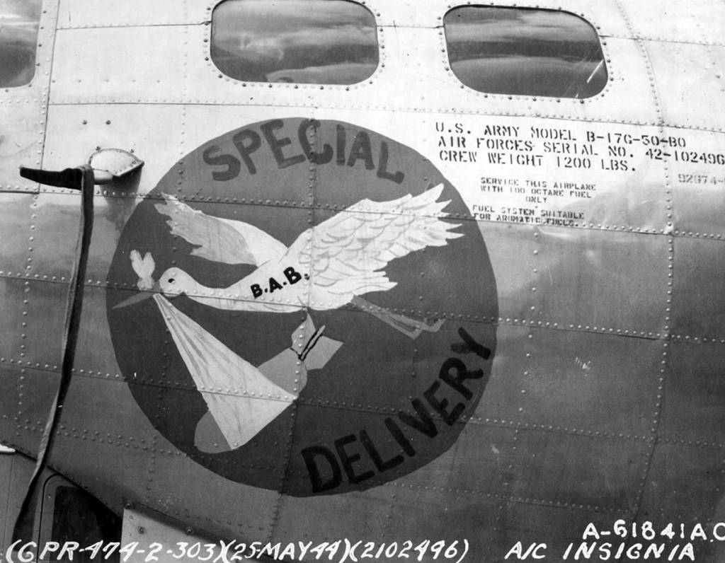 B-17 #42-102496 / Special Delivery