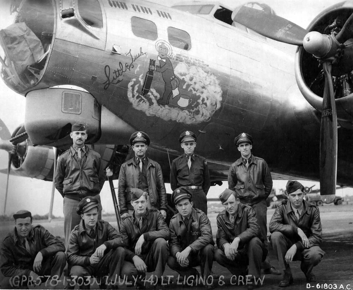 B-17 #42-102595 / Little Tush