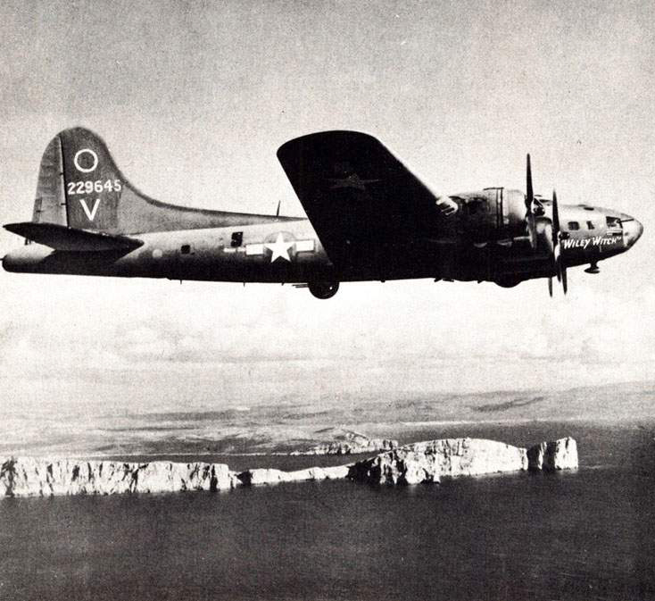 B-17 #42-29645 / Wiley Witch
