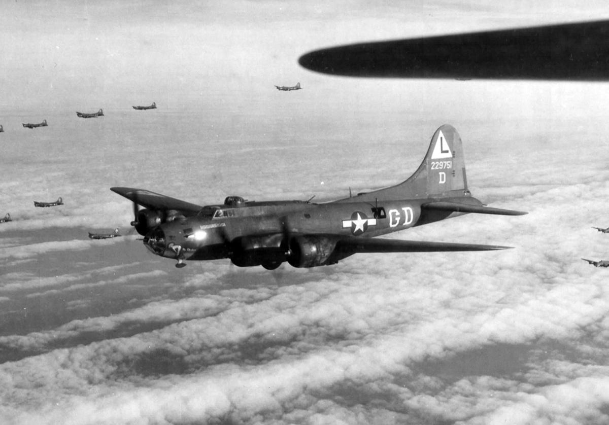 B-17 #42-29751 / Miss Abortion aka Stuff