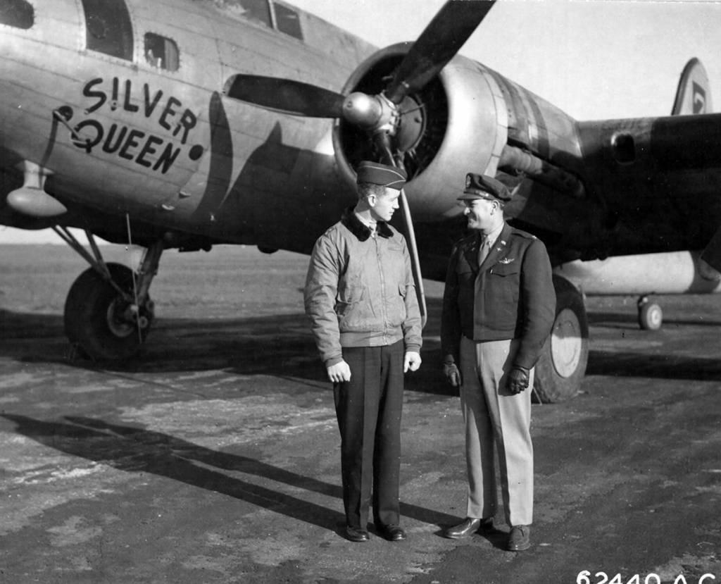 B-17 #42-29780 / Silver Queen