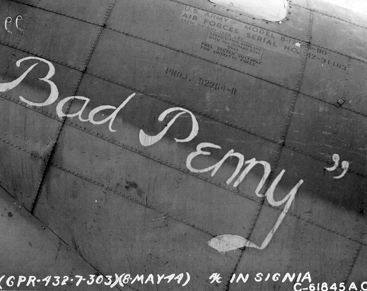 B-17 #42-31183 / Bad Penny