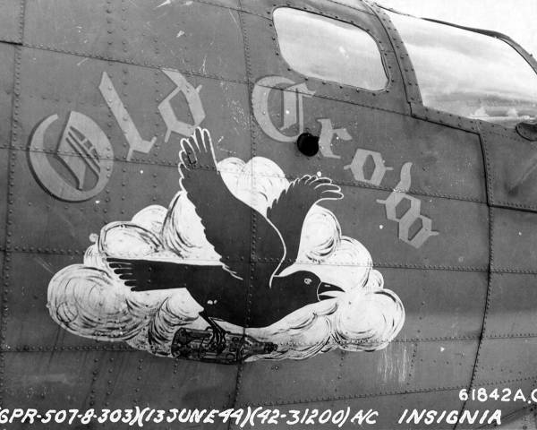 B-17 #42-31200 / Old Crow aka The Bad Penny