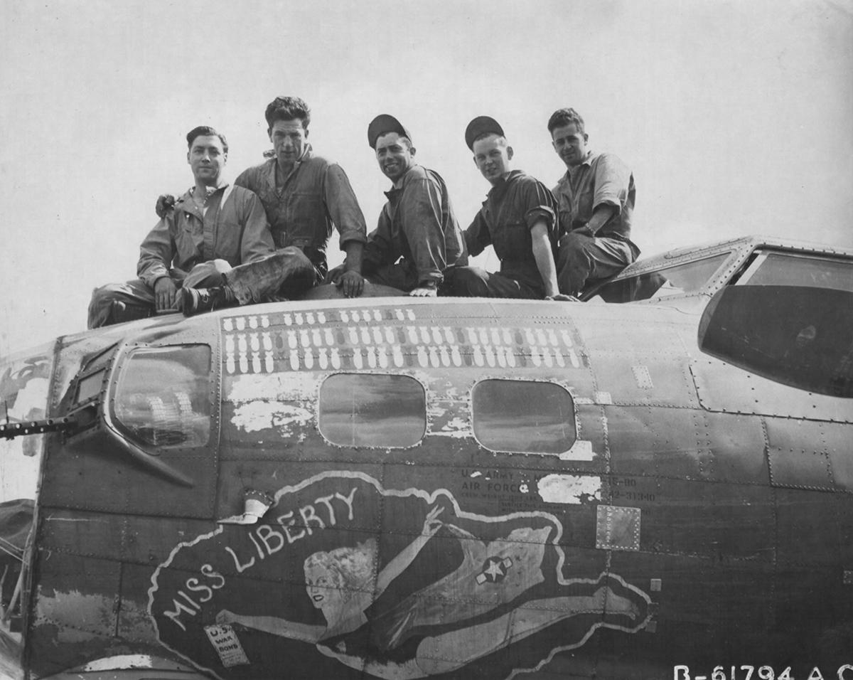 B-17 #42-31340 / Miss Liberty