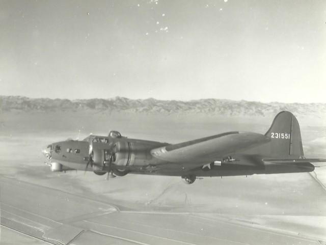 B-17 #42-31551 / Elizabeth Ann