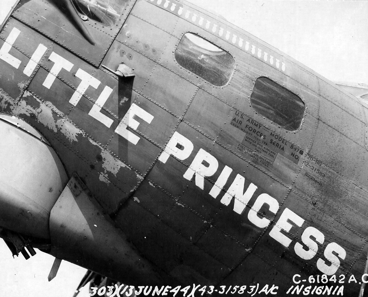 B-17 #42-31583 / Little Princess aka Clover Leaf