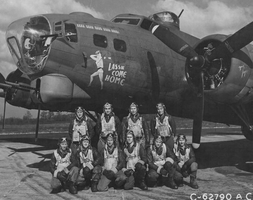 B-17 #42-31673 / Lassie Come Home