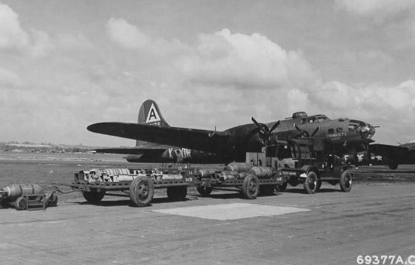 B-17 #42-3172 / Chennault's Pappy