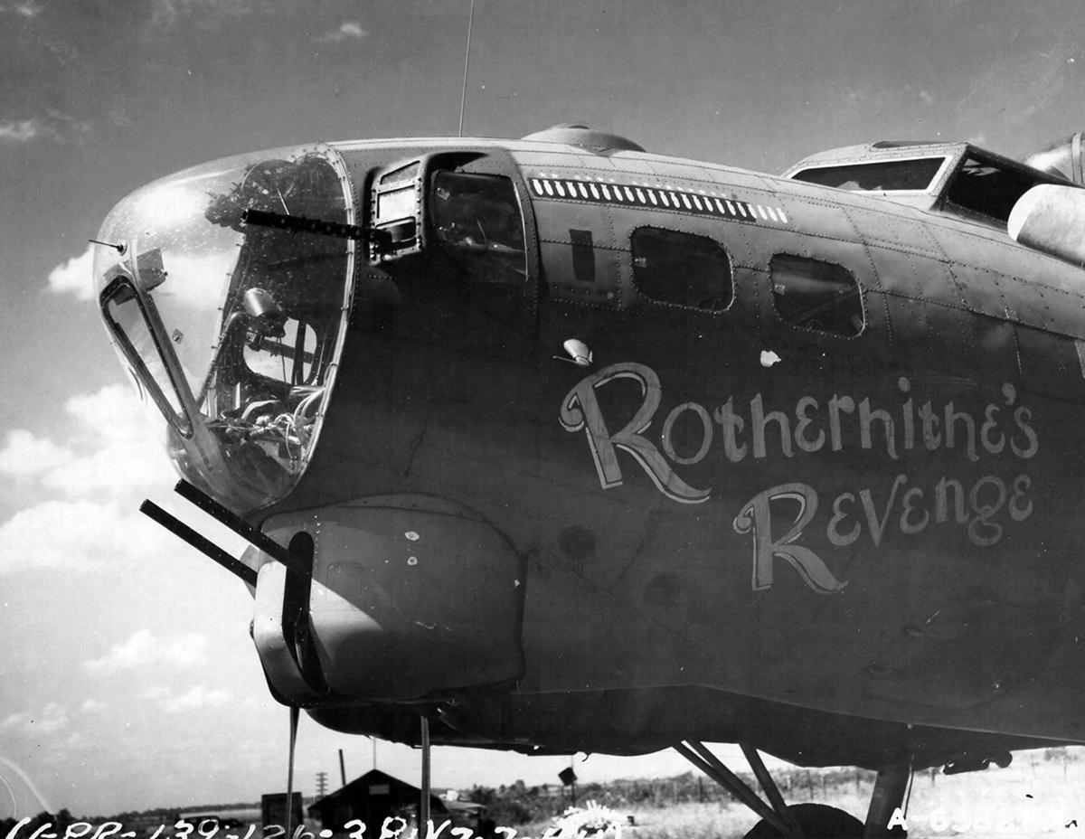 B-17 #42-31761 / Rotherhithe's Revenge