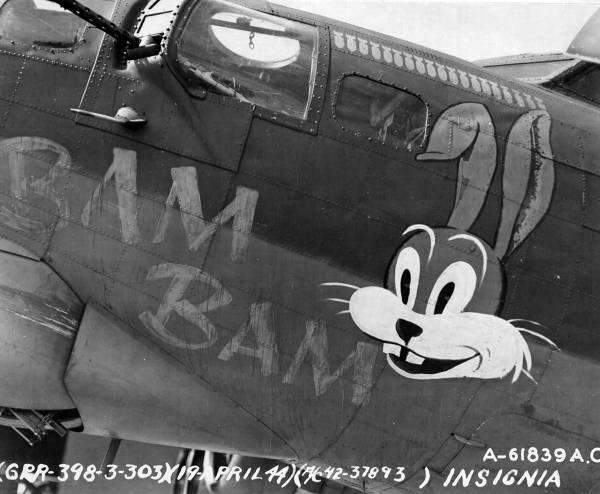 B-17 #42-37893 / Bam Bam