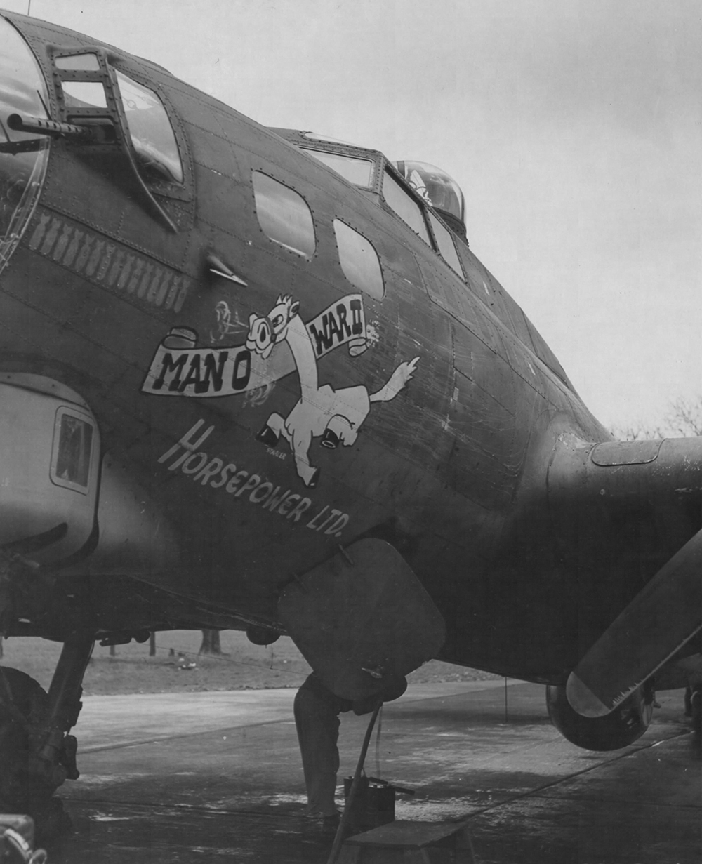 B-17 #42-38083 / Man 'O War II – Horsepower Ltd