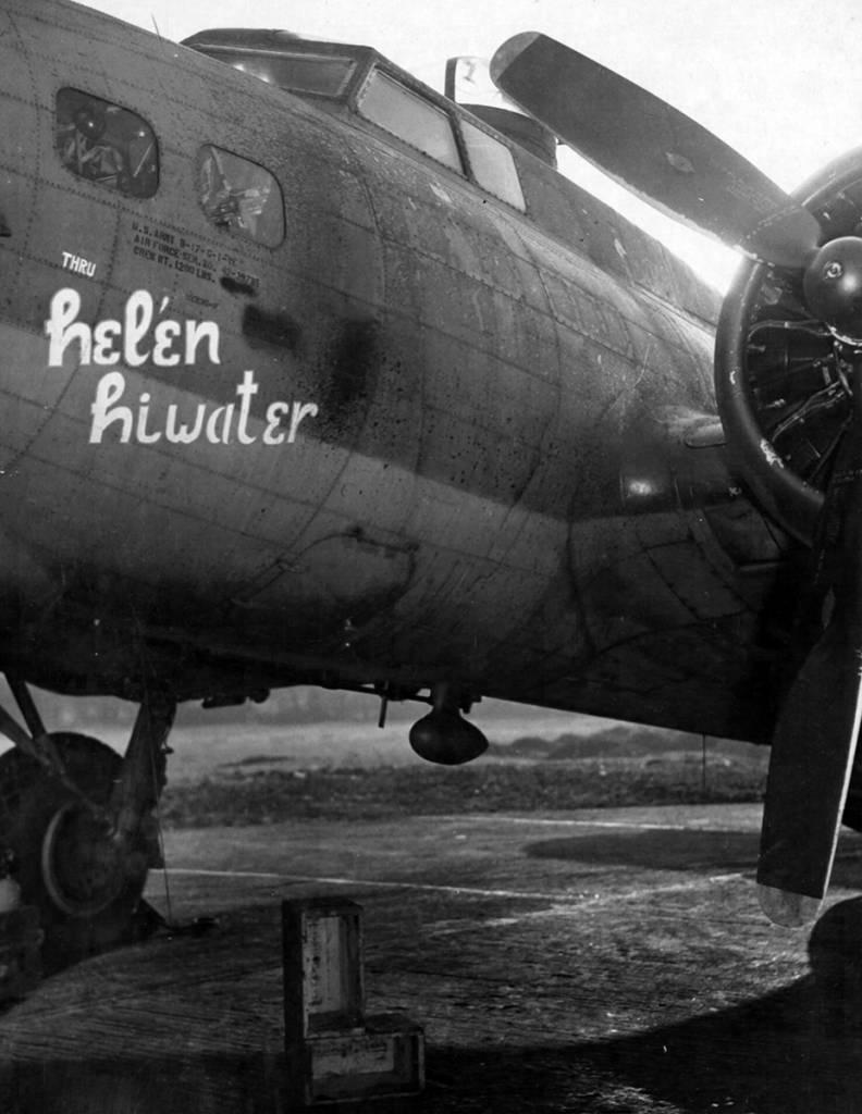 B-17 #42-39785 / Thru Hel'en Hiwater