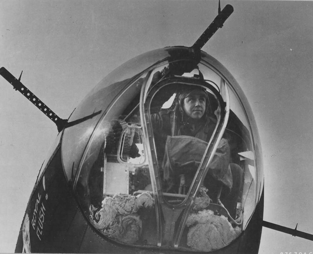 B-17 #42-5132 / Royal Flush!