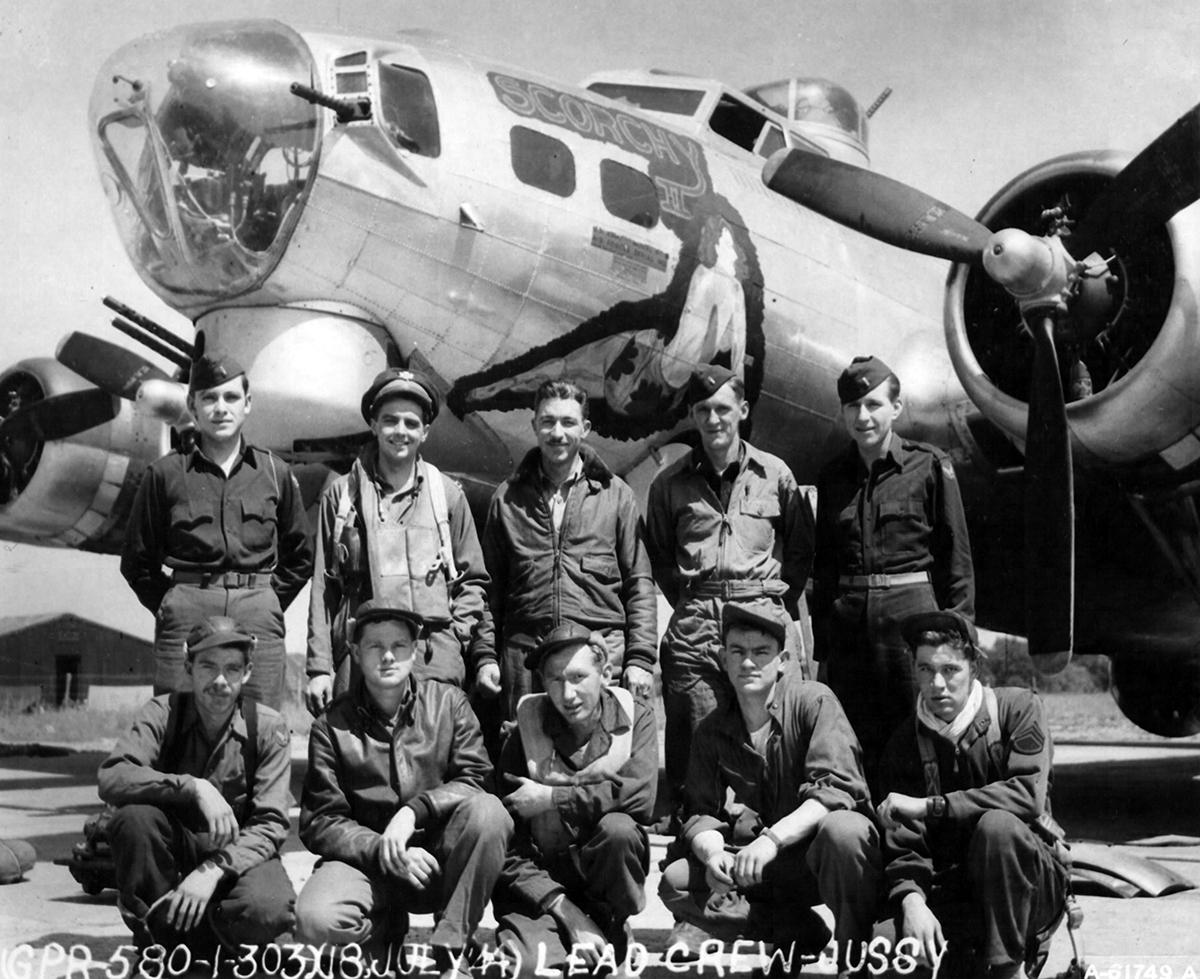 B-17 #42-97058 / Scorchy II