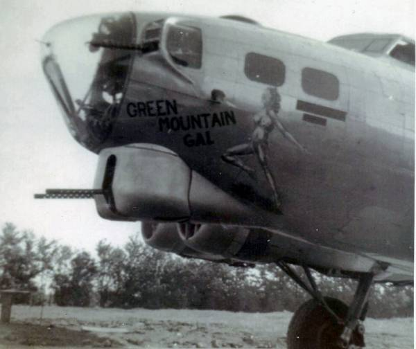 B-17 #42-97072 / Green Mountain Gal