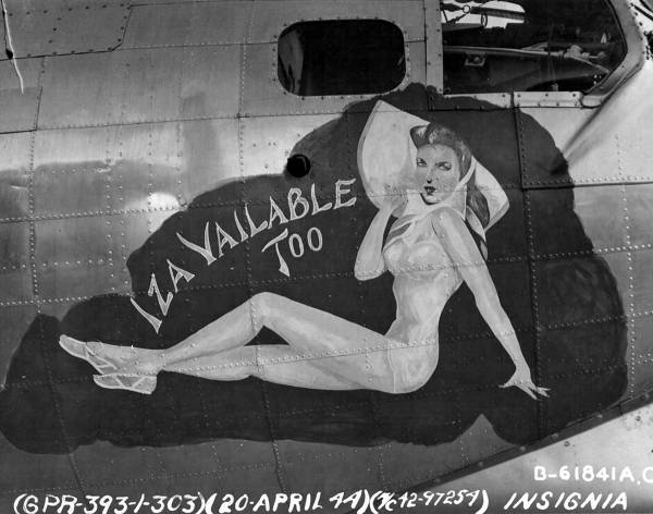 B-17 #42-97254 / Iza Vailable Too