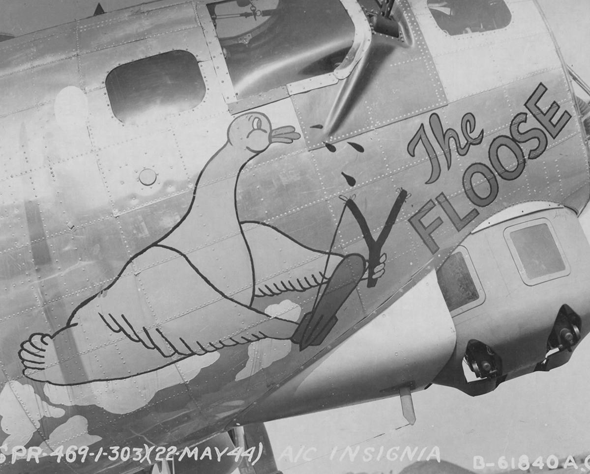 B-17 #42-97298 / The Floose