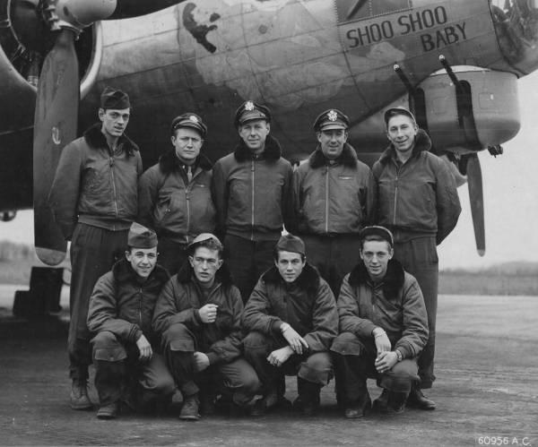 B-17 #42-97311 / Silver Fox aka Shoo Shoo Baby