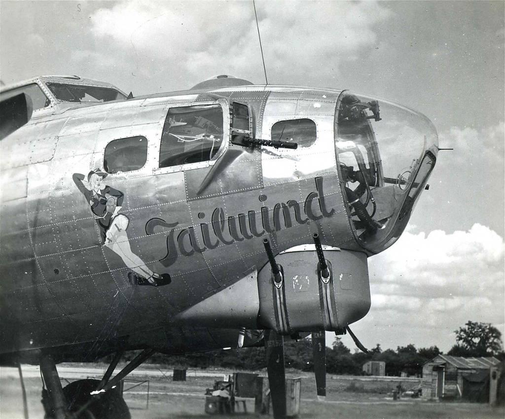 B-17 #42-97368 / Tailwind
