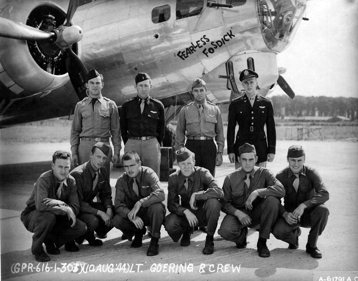 B-17 #43-37838 / Fearless Fosdick