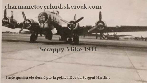 B-17 #43-37848 / Scrappy Mike