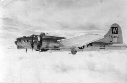 B-17 #43-37963 / Dirty Deuce