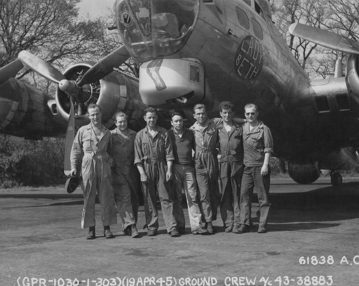 B-17 #43-38883 / Lady Beth