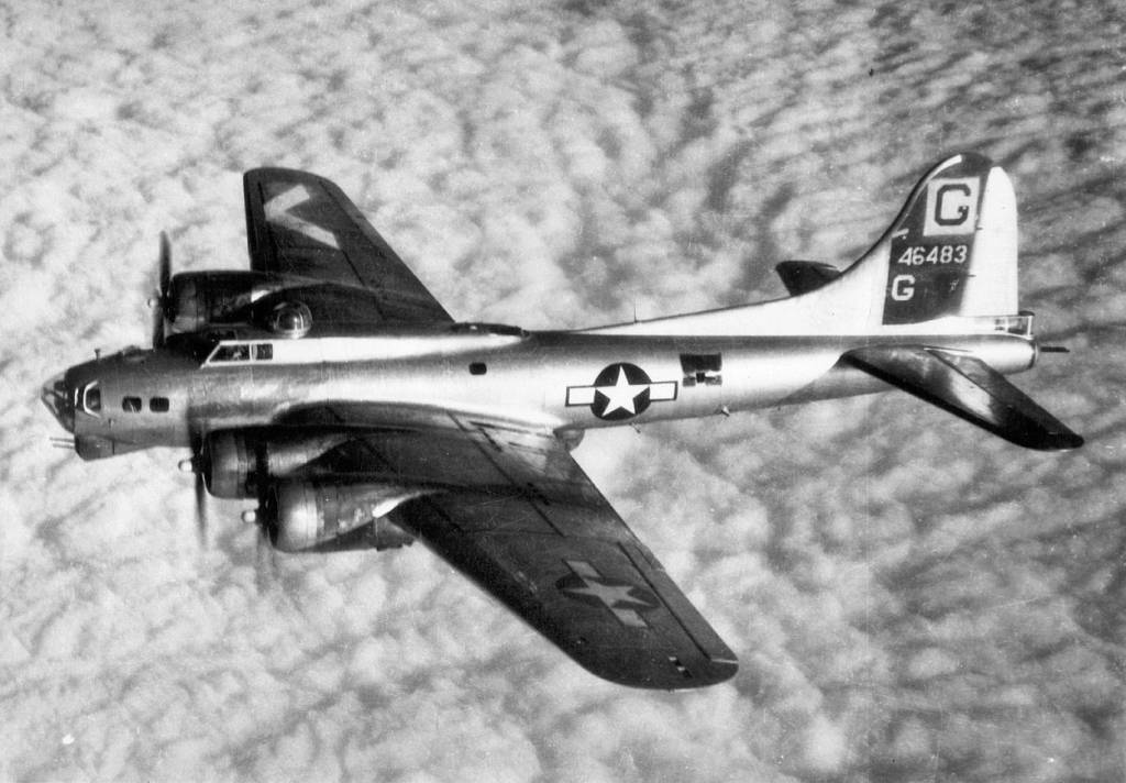 B-17 #44-6483 'Ruby's Raiders'